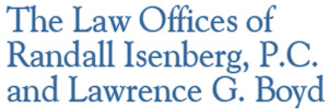 The Law Offices of Randall Isenberg and Lawrence G. Boyd