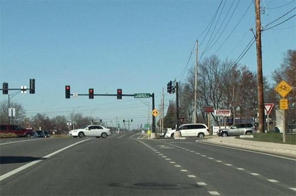 Traffic scene